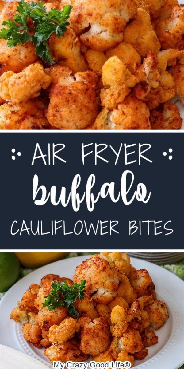 Air Fryer Buffalo Cauliflower Bites Recipe