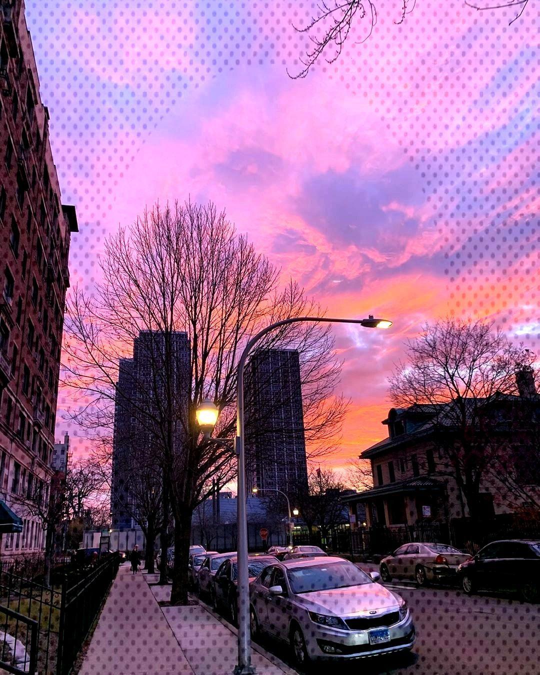 Red sky at morning, sailors take warning • •
