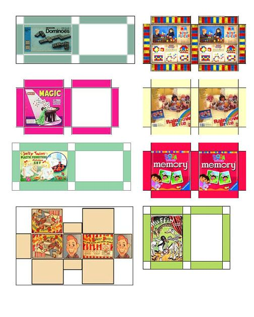 Doll House Miniatures Printables Glue Websites Jennifer S
