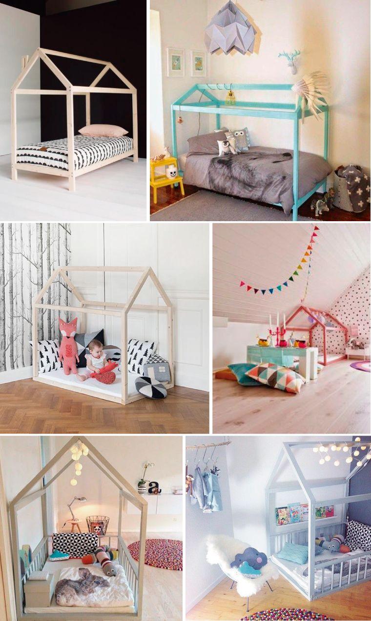 Mvel de quinta Cama casinha Camas Bebe y Montessori