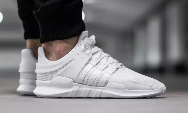 brand new f8872 bc209 Adidas EQT Support ADV White  Solecollecto r Follow filetlondon for  more street wear filetlondon