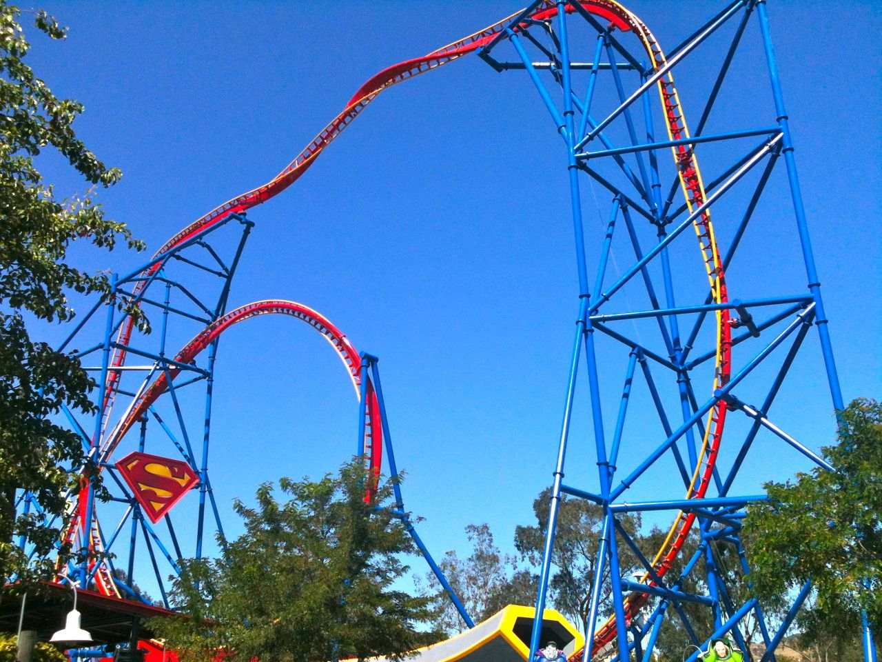 Superman Ultimate Flight At Six Flags Discovery Kingdom Thrill Ride Roller Coaster Travel Themes