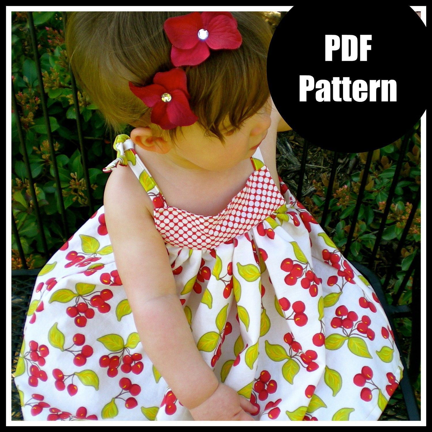 Girls dress pattern baby dress pattern sewing patterns pdf girls dress pattern baby dress pattern sewing by pinkpoodlebows 600 jeuxipadfo Image collections