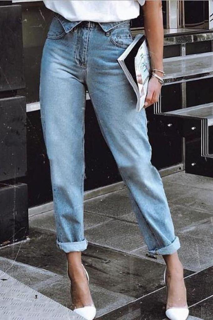 Pouco ou muito rasgada? Veja uma seleção das calças jeans do