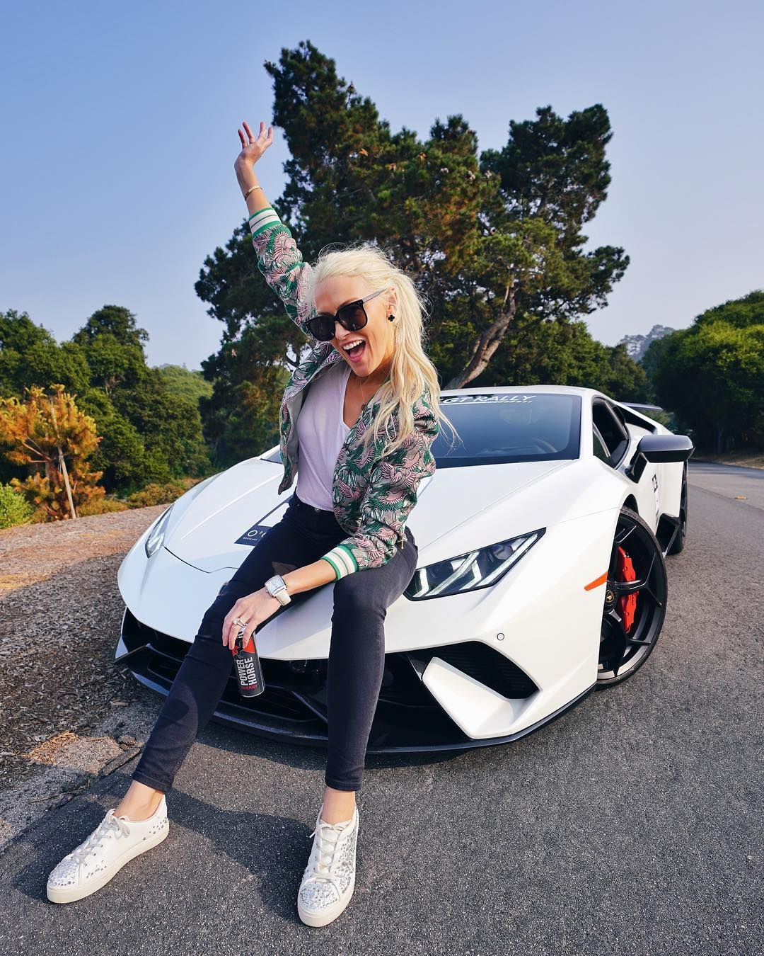 This Is Lucy If She Lost 40kg And Started Pumping Iron Epic Drive With The Performante On Sunsetgranturismo Ogara Car Girls Super Cars Classy Cars