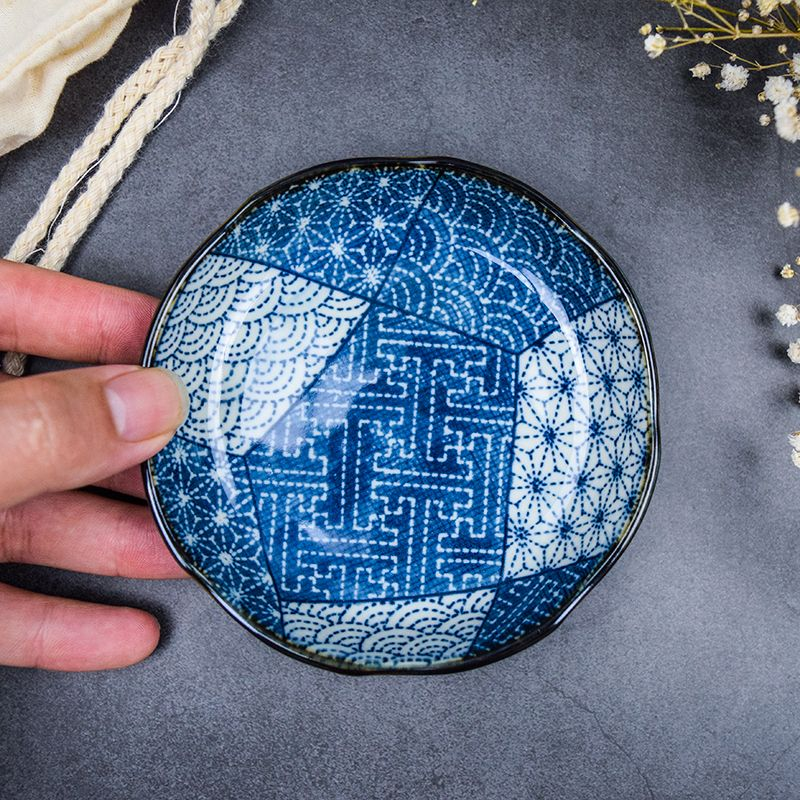 Usd 11 96 Japanese Imported Ceramic Japanese Dish Round Plate Creative Tableware Flat Korean Cold Plate China Shopping Online Japanese Dishes Breakfast Plate