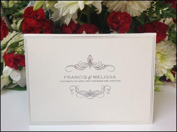 Diy Hardcover Wedding Invitations