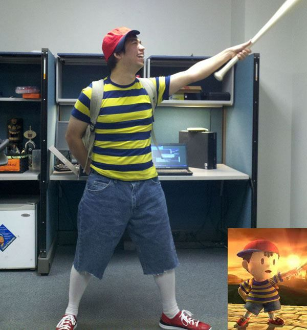 CosPlay Of Ness From My Favorite SNES Game, EarthBound