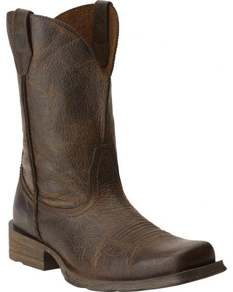 0444e3ef749 Ariat Rambler Cowboy Boots - Square Toe in 2019 | Cowboy Boots ...