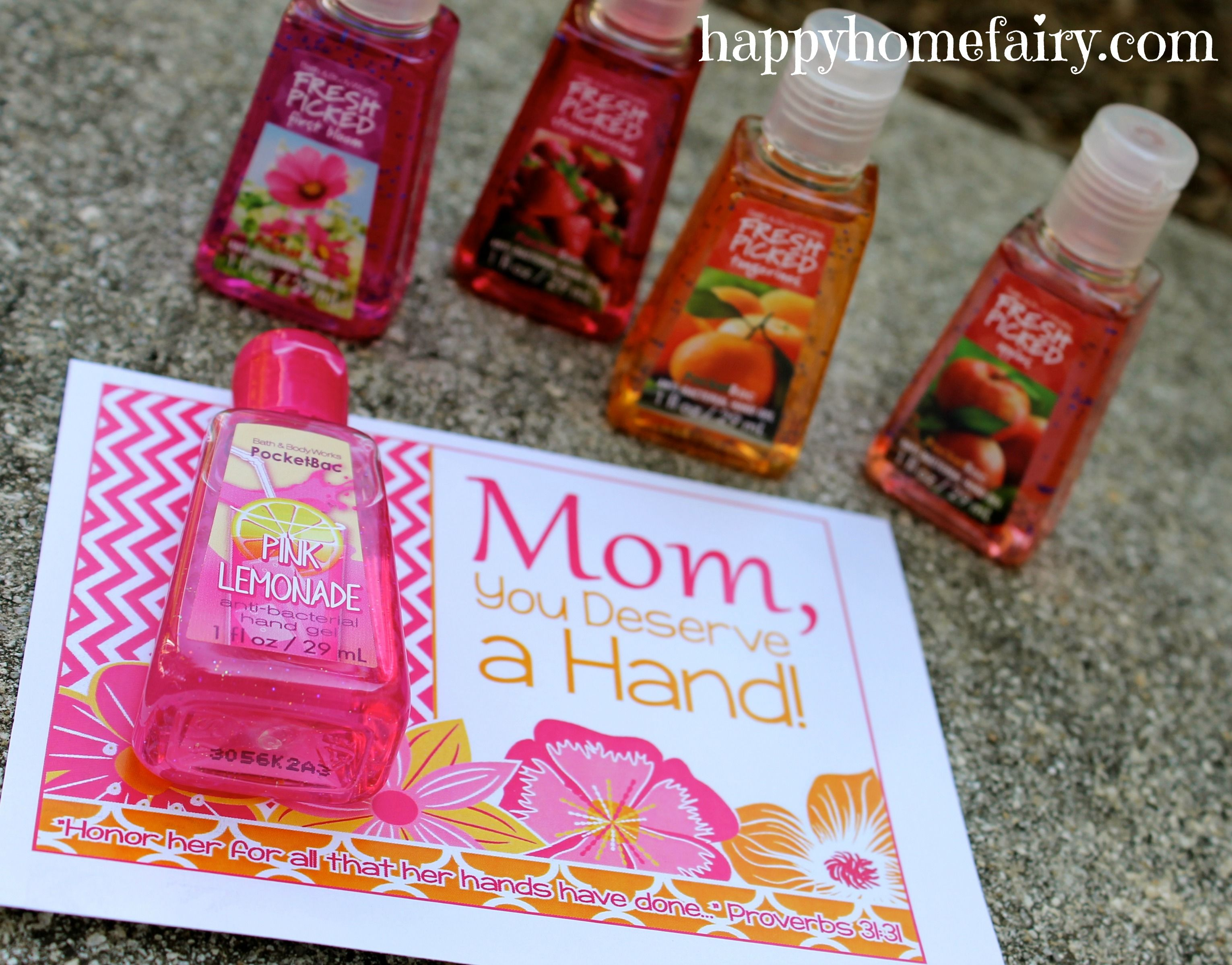 easy mother's day gift idea - free printable | mothers day