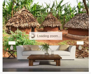 African Huts Great Selection Of Unique And Exclusive Wallpaper Murals Our Murals Are Prepasted Drypable And Reusable