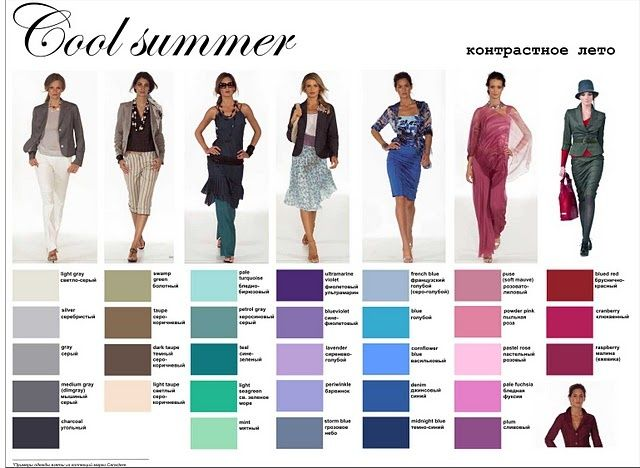 What Are Summer Colors cool summer palette. to learn more about colour palettes and to