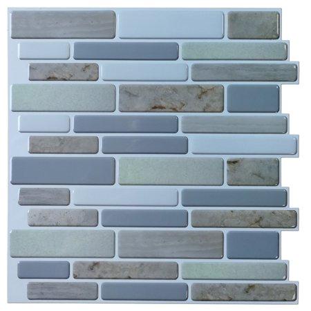 Home Improvement Mosaic Tiles Stick On Tiles Peel Stick Tile