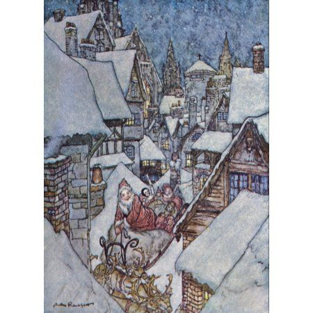 BEATRIZ: Arthur rackham christmas cards