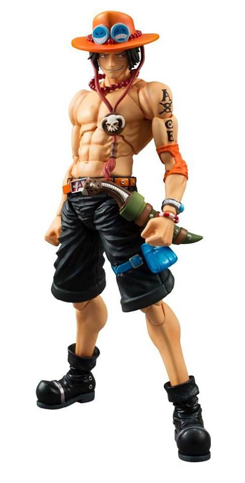 ToyzMag.com » One Piece une figurine acticulée de Ace par MegaHouse