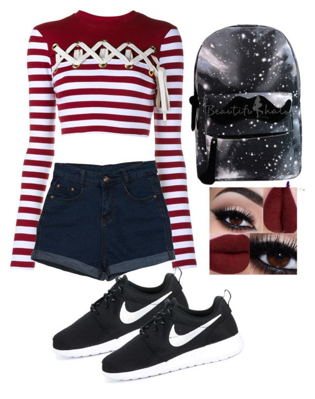 """Untitled #17"" by al-shishigina ❤ liked on Polyvore featuring House of Holland and NIKE"