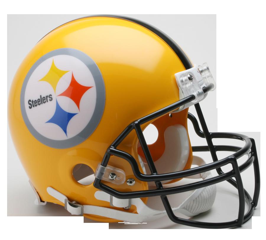 Pittsburgh Steelers 1962 Authentic Full Size Throwback Helmet 75th Anniversary Steelers Helmet Football Helmets Pittsburgh Steelers Helmet