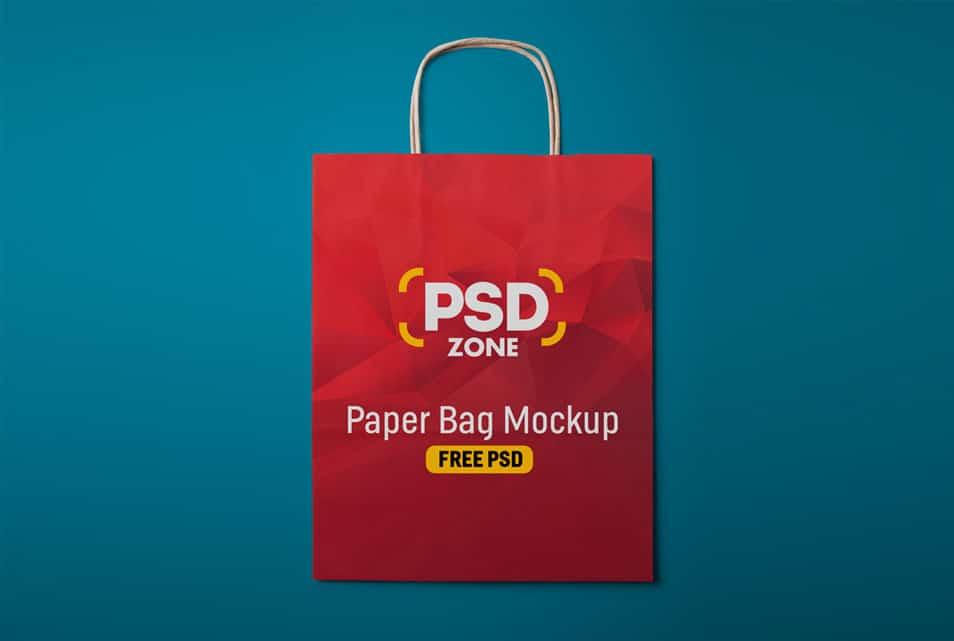 Download Paper Shopping Bag Mockup Free Psd Mockup Free Psd Bag Mockup Free Mockup
