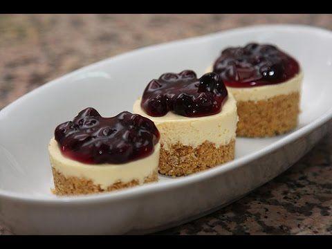 طريقة عمل ميني تشيز كيك Desserts Food Mini Cheesecake