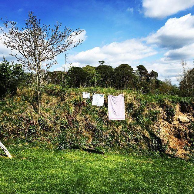 The washing line ireland clothesline laundry Irish