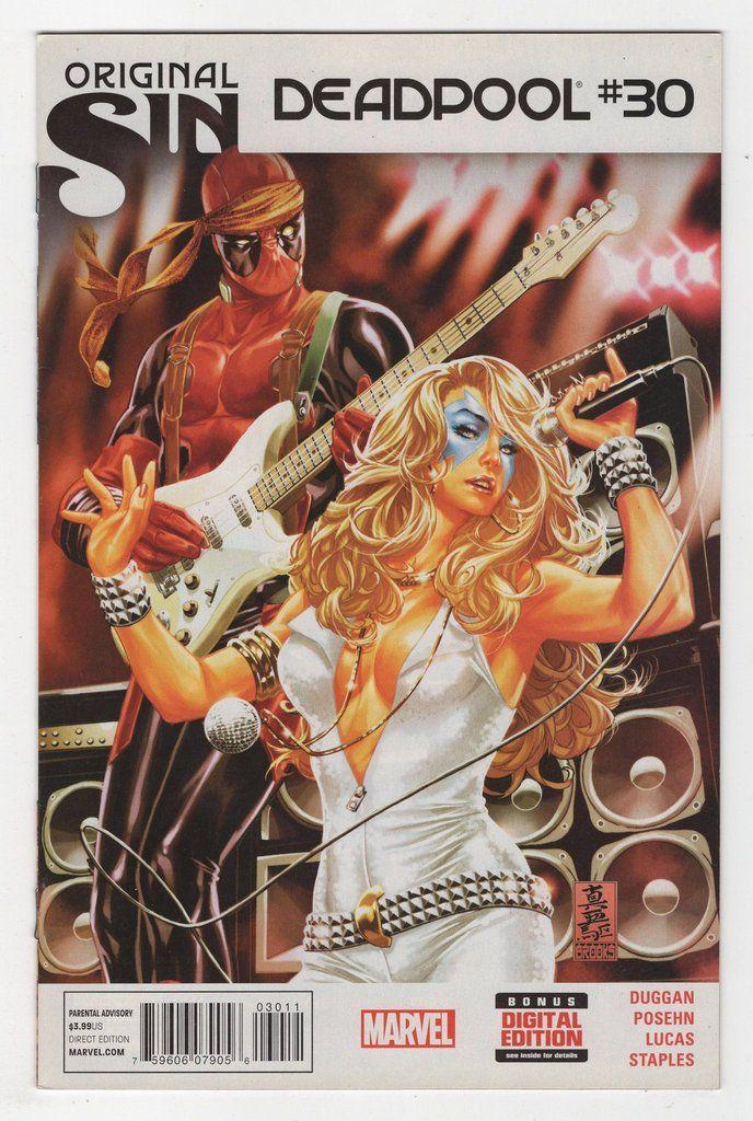 Marvel Deadpool Ausmalbilder Gratis: Deadpool #30 Regular Mark Brooks Cover (2014)