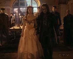 Belle and Rumpelstiltskin from the TV show Once Upon A Time