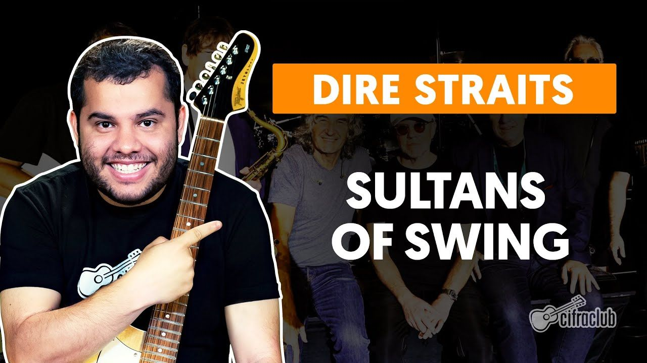 Sultans Of Swing Dire Straits Como Tocar Na Guitarra Youtube Dire Straits Youtube Guitarra