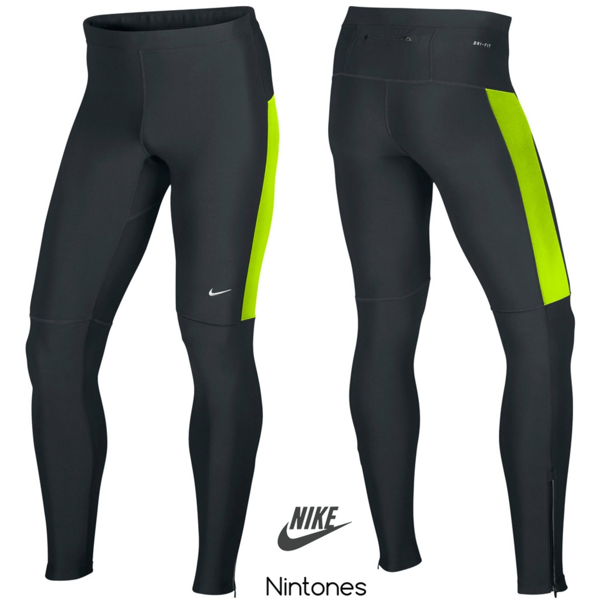 50383236 NIKE FILAMENT TIGHT PANTS 519712-011 Riga Latvia Daugavpils sport Dri-fit  Men Fashion