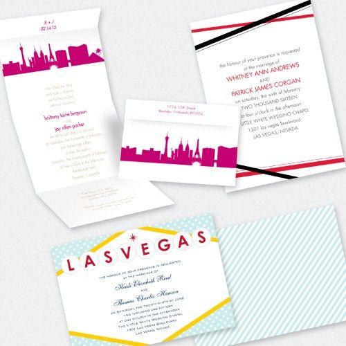 1000 images about Wedding invites – Las Vegas Wedding Invitation Ideas