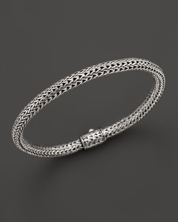 John Hardy Classic Chain Sterling Silver Extra Small Bracelet