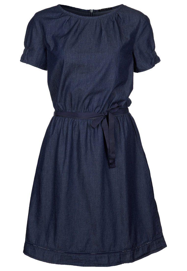 Sisley Jeanskleid in darkdenim @Zalando | Zalando, Kleidung