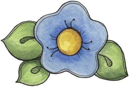 Flores country para imprimir , imagenes de dibujos coloreados de flores para scrapbooking o manualidades con la técnica de decoupage, decor...