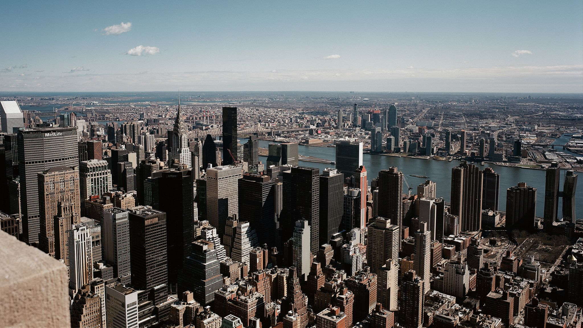 Midtown Manhattan From Empire State Building New York Attractions New York Vacation New York