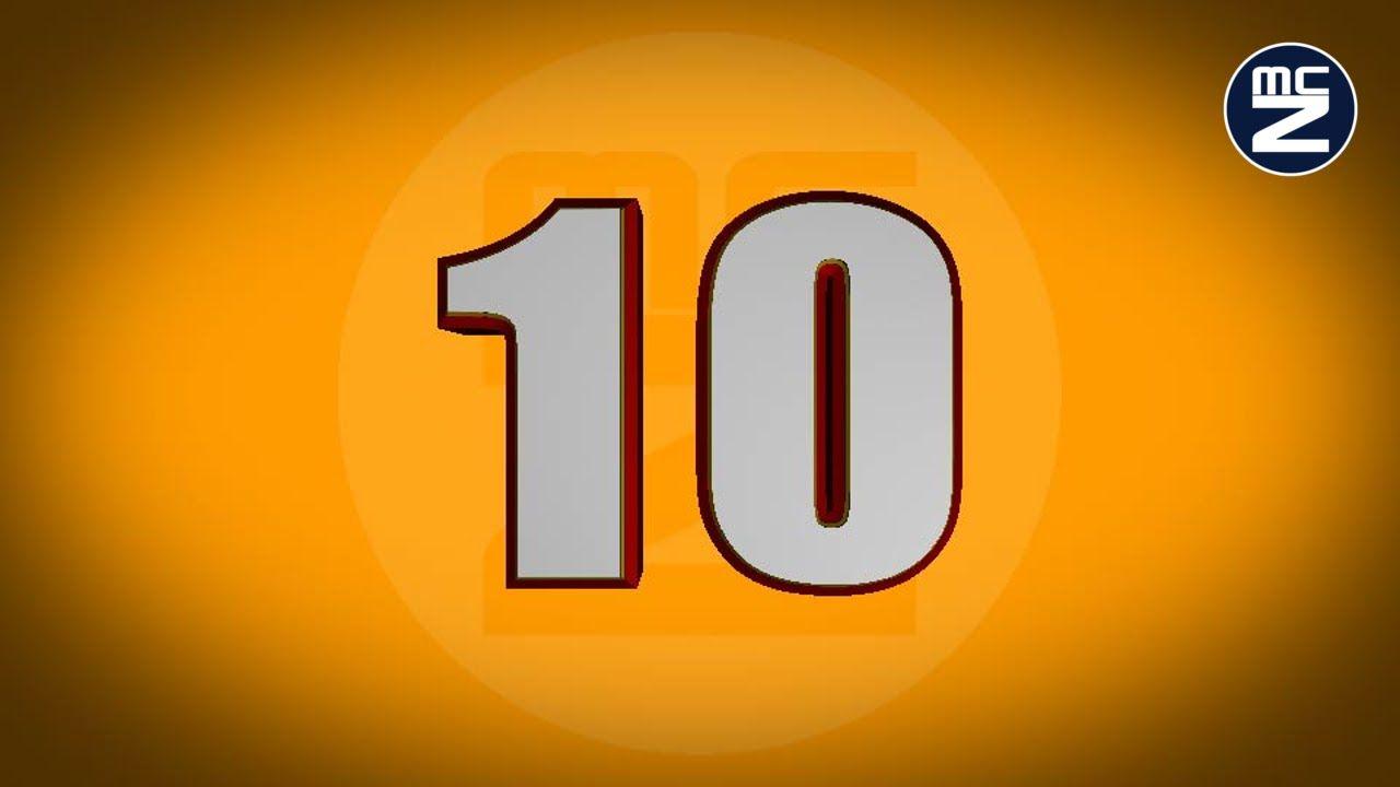 Conto alla rovescia 10 secondi con voce  Countdown 10
