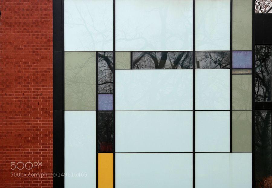 """""""Piet Mondrian Wall"""" by Huangtidefall"""