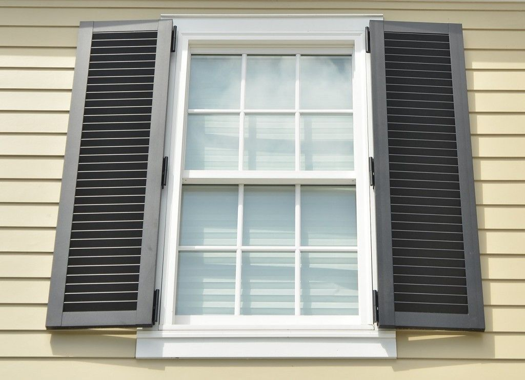 Colonial Storm Shutters Exterior Updates Pinterest