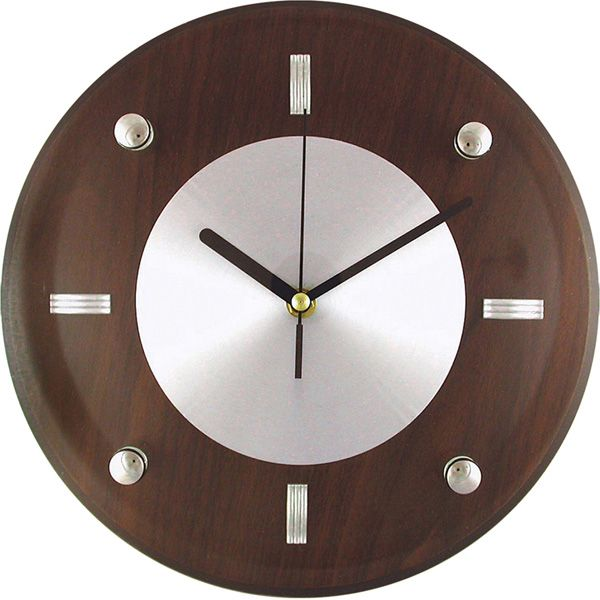 Heirloom 11 Clock Meijer Com With Images Silver Wall Clock Wall Clock Round Wall Clocks