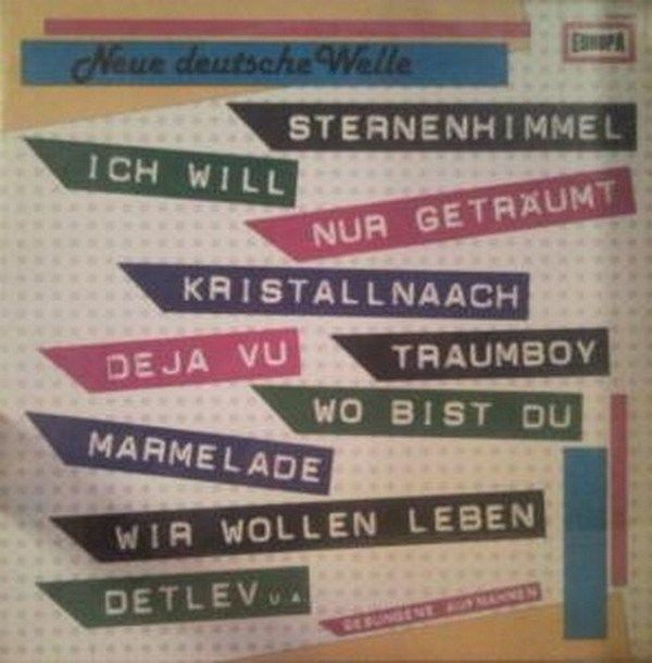 Various Neue Deutsche Welle 4 GER 1982 Lp mint Neue