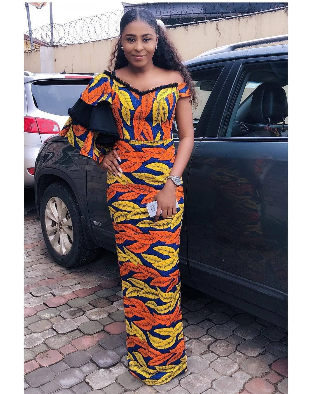 Latest ankara long gown styles ankara styles for ladies