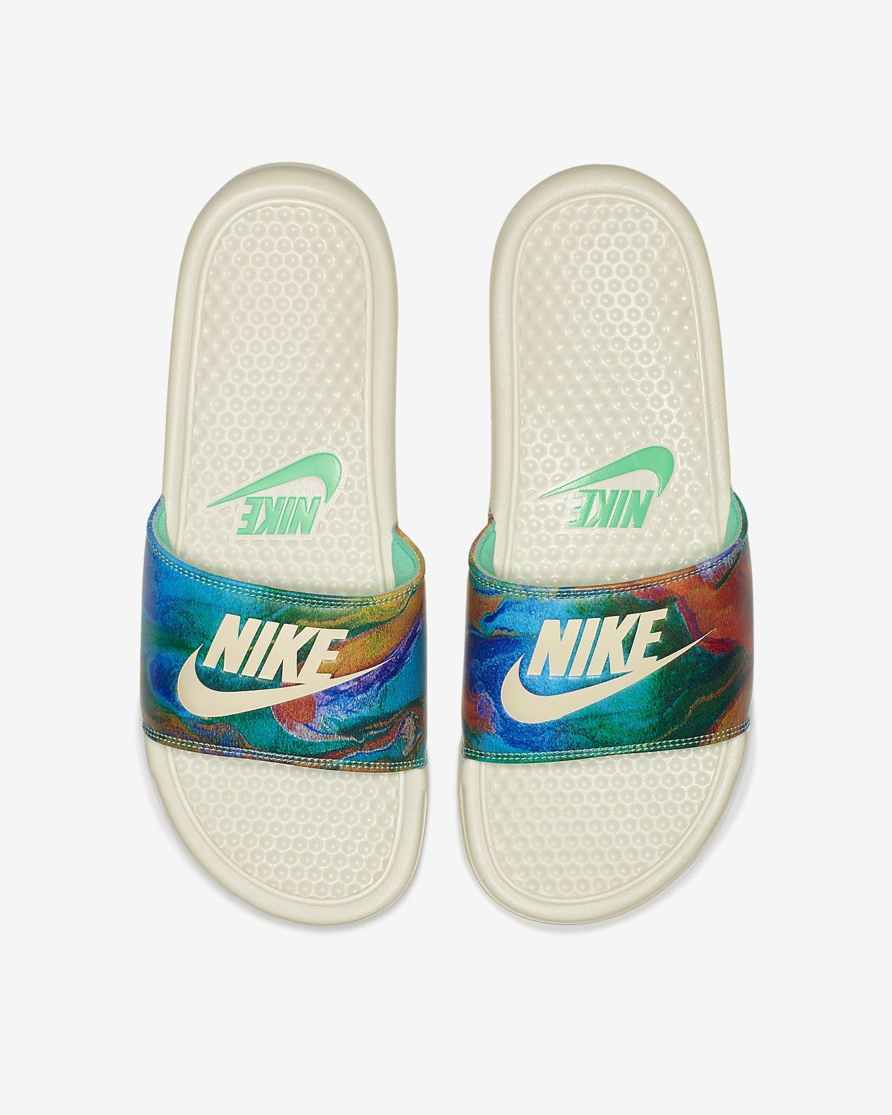 7fee5fcc28d6 รองเท้าแตะผู้ชายแบบสวม Nike Benassi JDI Printed