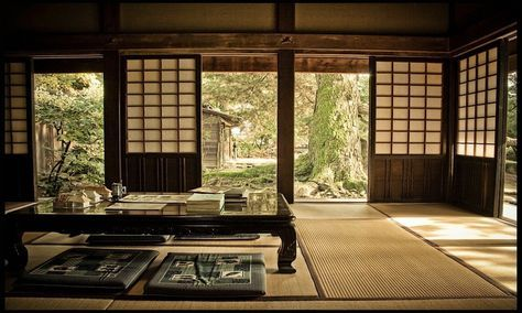 Traditional Japanese Mansion Traditional Japanese House Interior Lrg