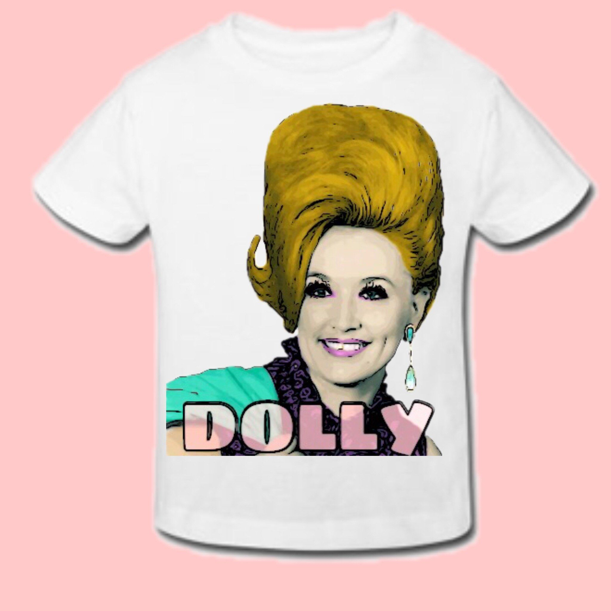 61d58a17f DOLLY PARTON T-SHIRT|ONESIE|ROMPER | Products | Pinterest | Products