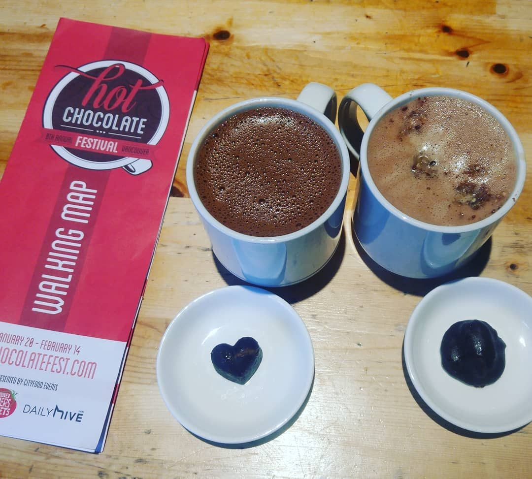 Love Is In The Air With These Vegan Chocolate Indulgences My First Hot Chocolate Festival And Im Hooked Ho Vegan Chocolate Chocolate Festival Hot Chocolate