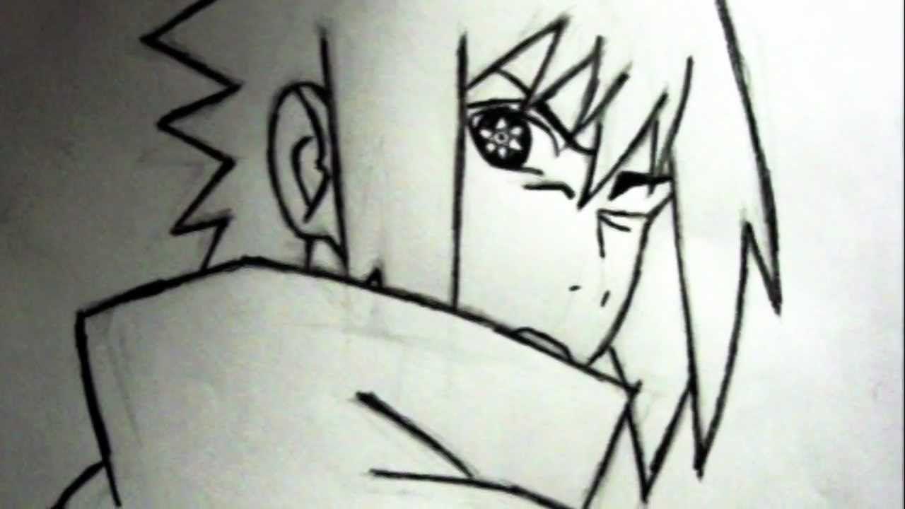 How To Draw Sasuke Uchiha Mangekyou Sharingan Sasuke