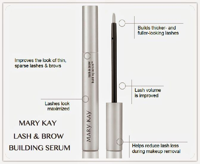 Mary Kay Lash and Brow Building Serum! Get those Lashes
