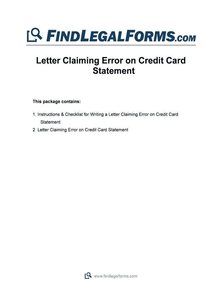 Credit card statement template fill online printable