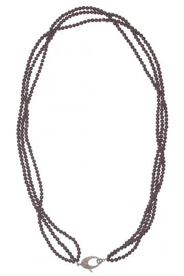 The Woods Fine Jewelry Necklace Garnet Strands THE WOODS FINE