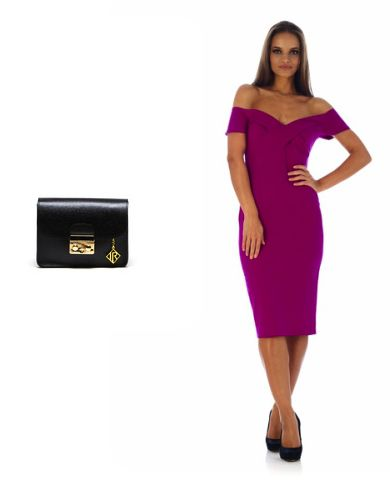 Getting ready for a date?Put on a beautiful purple Maya Zanotti dress: http://www.storebrandsvip.com/private-sales/101/offer/  and take this Isabella Rhea bag: http://www.storebrandsvip.com/private-sales/90/offer/