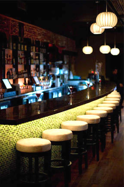 Sushi Restaurant Lighting Bar Hospitality Interior Design Of Raw Sake