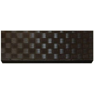 Best Multy Home Black Rubber 9 In X 24 In Square Stair Tread 400 x 300